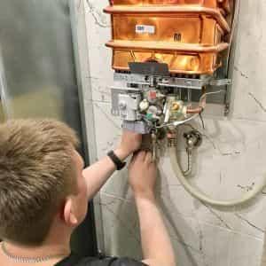Услуги подключения газовой колонки в квартирах и частных домах