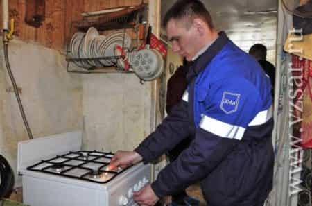 Безопасная установка и подключение газовой плиты от газовой службы «Сатурн» в Москве