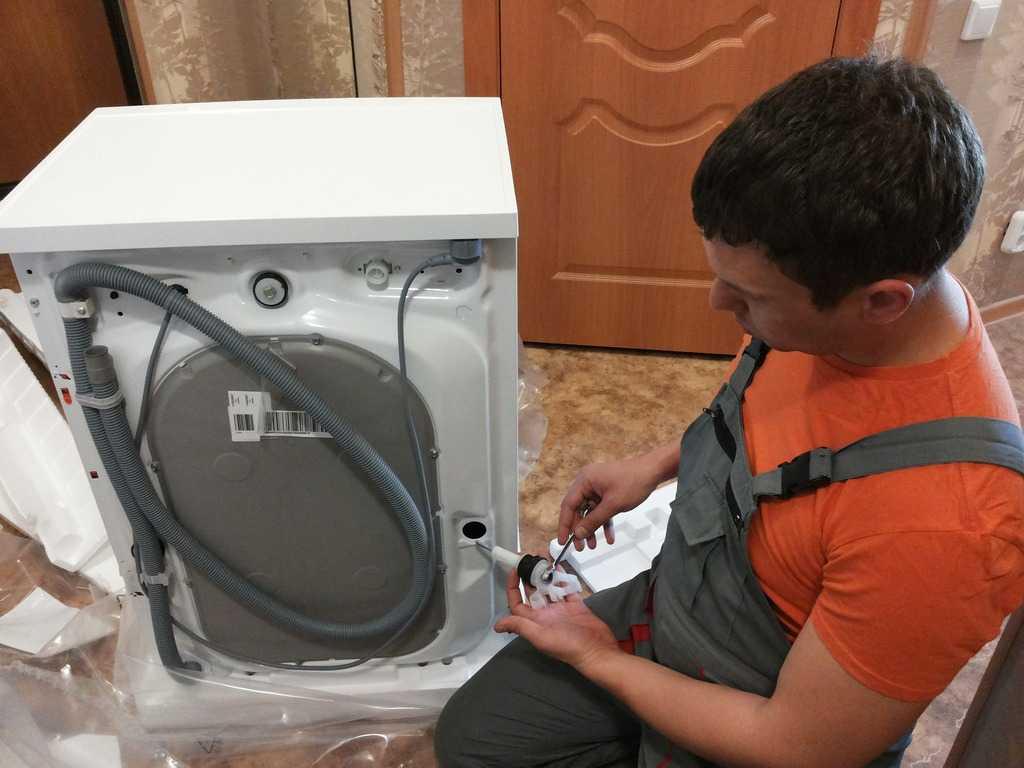 Как правильно выполнить подключение стиральной машины?